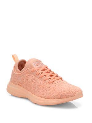 Apl Athletic Propulsion Labs Techloom Phantom Sneakers In Peach
