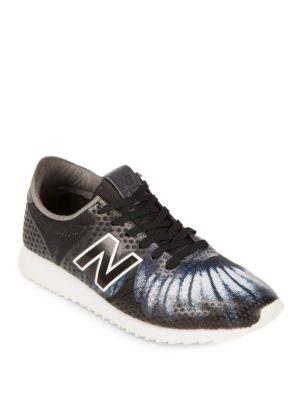 New Balance Butterfly Lace-up Sneakers In Charcoal