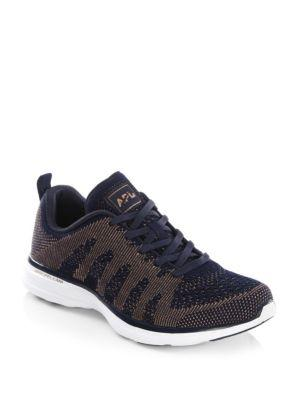 002fc4711c96 APL ATHLETIC PROPULSION LABS. Techloom Pro Cashmere Sneakers in Midnight Rose  Gold