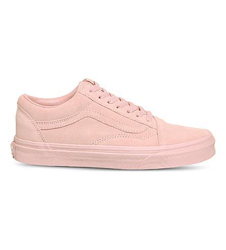 cfa353b93df6 Vans Old Skool Low-Top Suede Trainers In Pink
