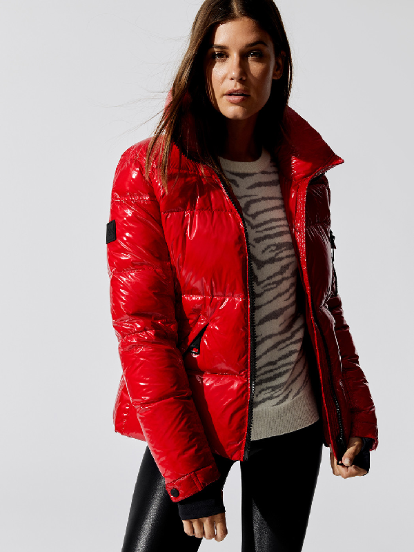Sam. Freestyle Down Jacket In Red