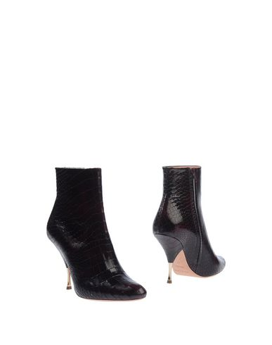 Rochas Ankle Boots In Deep Purple