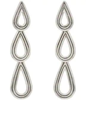 Pamela Love Three Phoebe Earrings - Silver