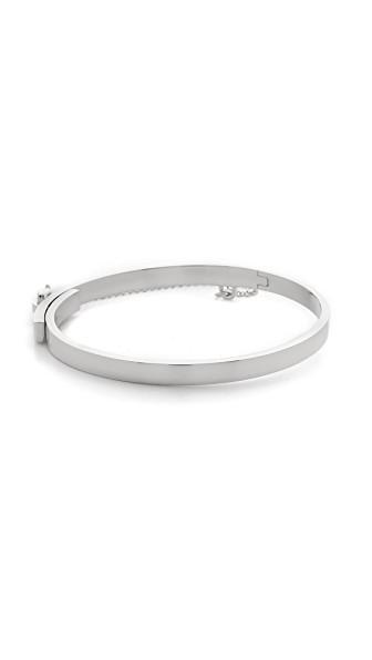 Eddie Borgo Extra Thin Chain Bracelet In Silver