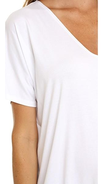 Hatch The Perfect Vee Tee In White