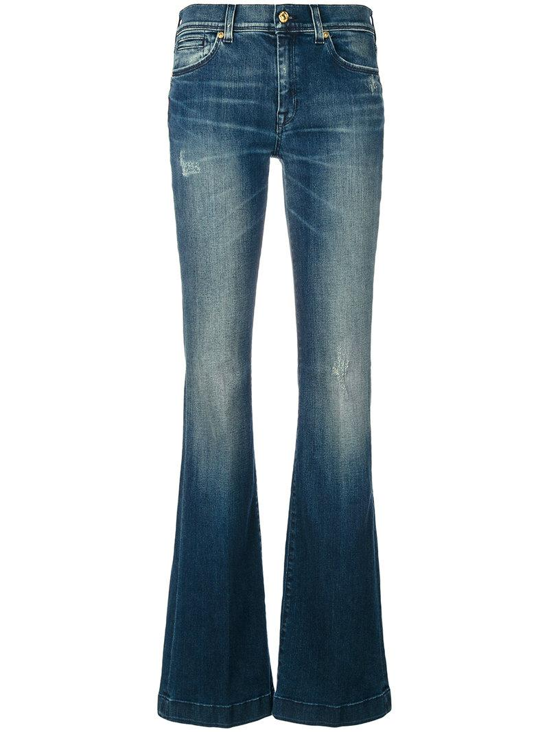 7 For All Mankind Charlize Flared Jeans
