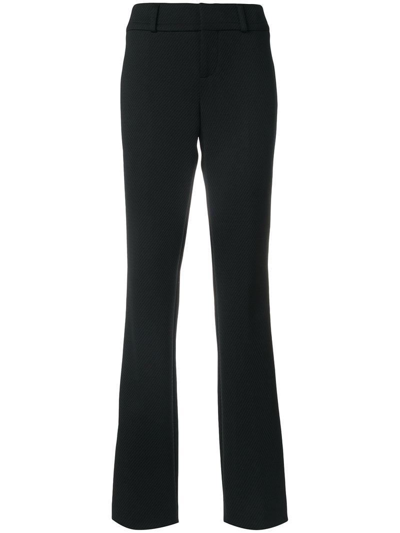 Marni Bootcut Trousers - Black