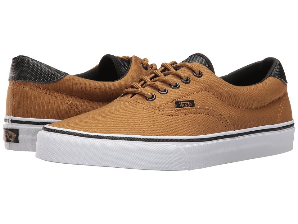 9ce57347f4c6 Vans - Era 59 ((Canvas Military) Bistre White) Skate Shoes