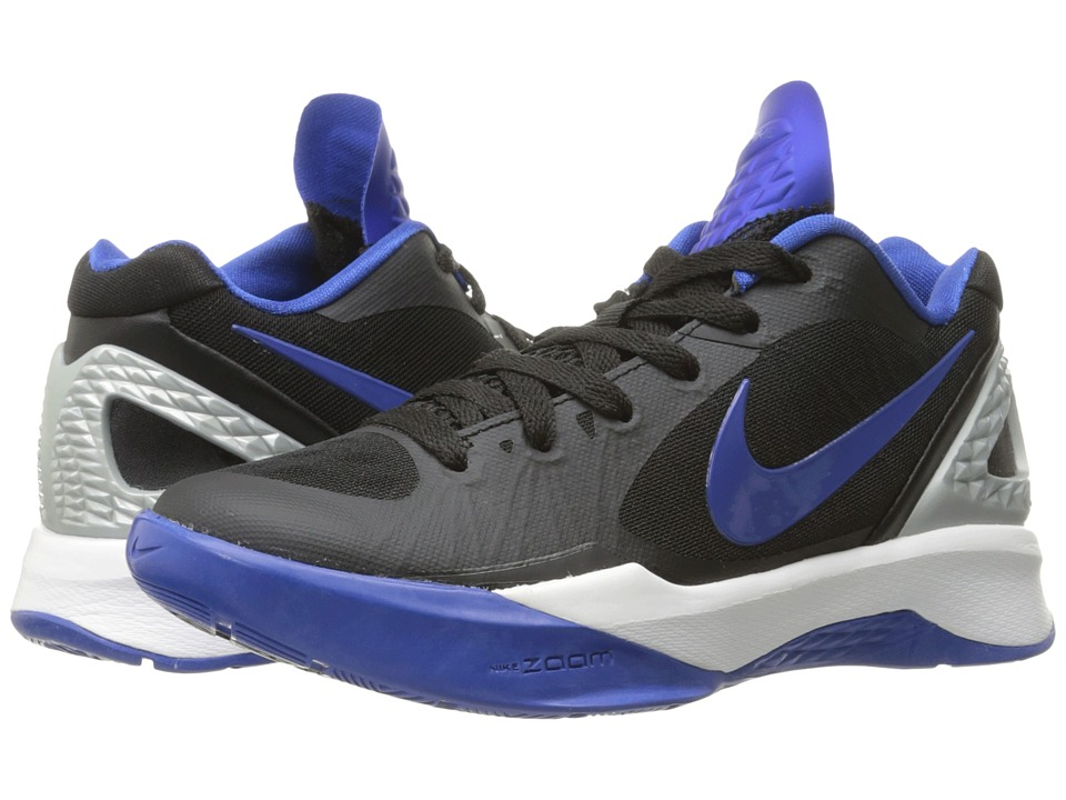 ventilación Ocupar Proponer  Nike - Volley Zoom Hyperspike (black/metallic Silver/white/game Royal)  Women's Volleyball Shoes   ModeSens