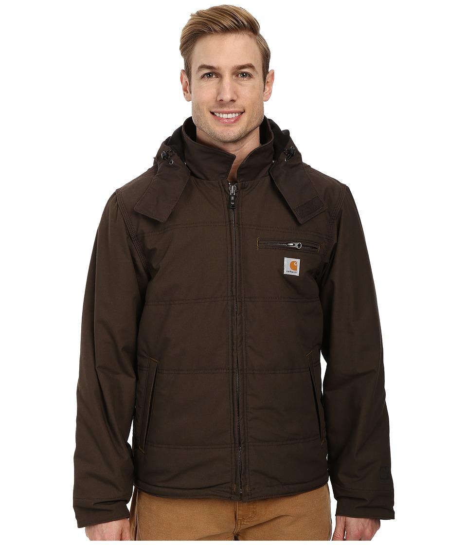 autumn shoes on wholesale get cheap Carhartt - Quick Duck(R) Livingston Jacket (Dark Coffee) Men's Coat