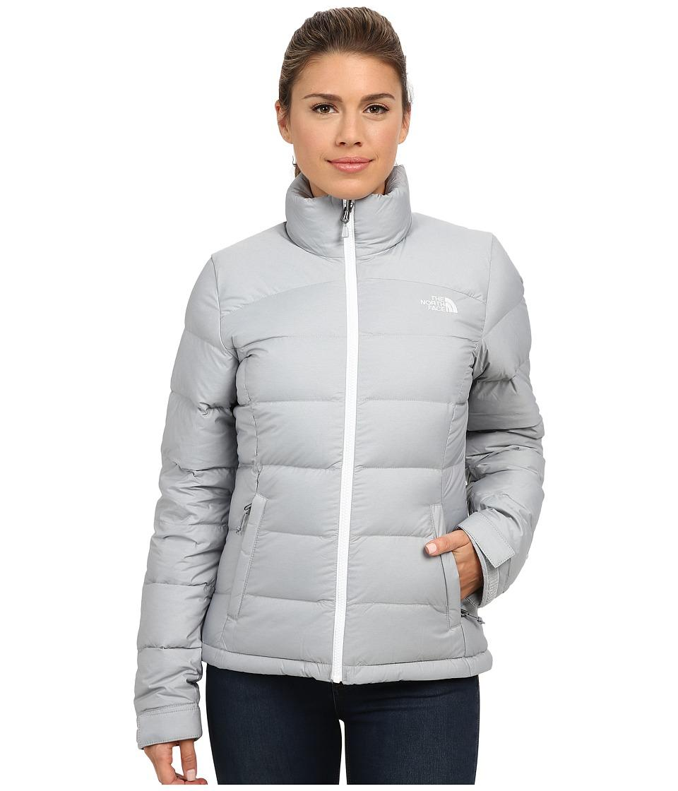 3caf26337a3 The North Face - Nuptse 2 Jacket (High Rise Grey Heather/Tnf White ...