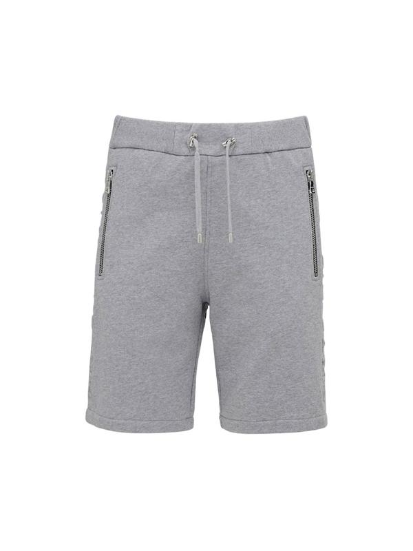 Balmain Shorts & Bermuda Shorts In Gris Chine