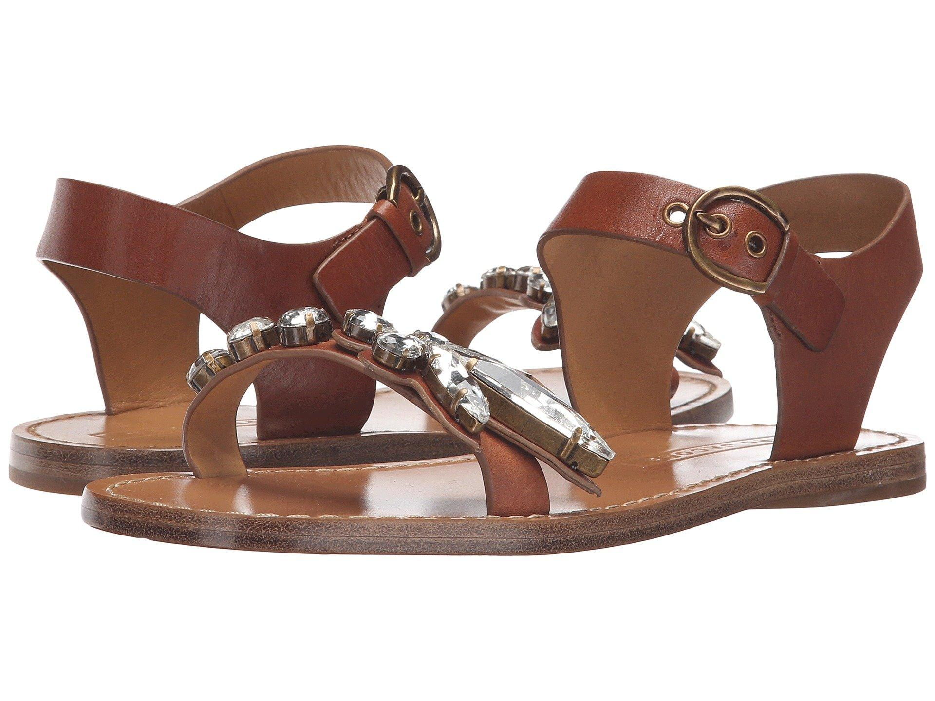 Marc Jacobs Rivington Embellished Sandal In Luggage
