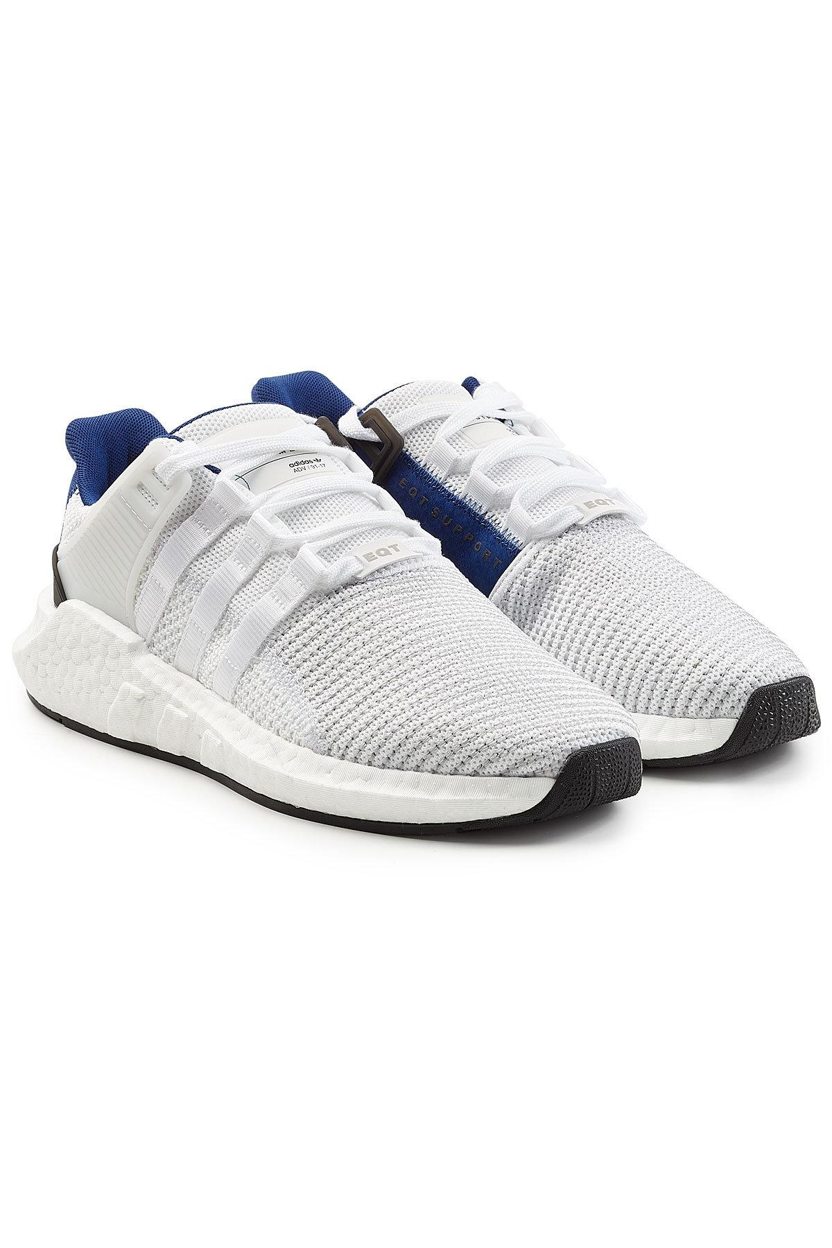 Adidas Originals Eqt Support 93/17 Sneakers With Suede In Multicolored