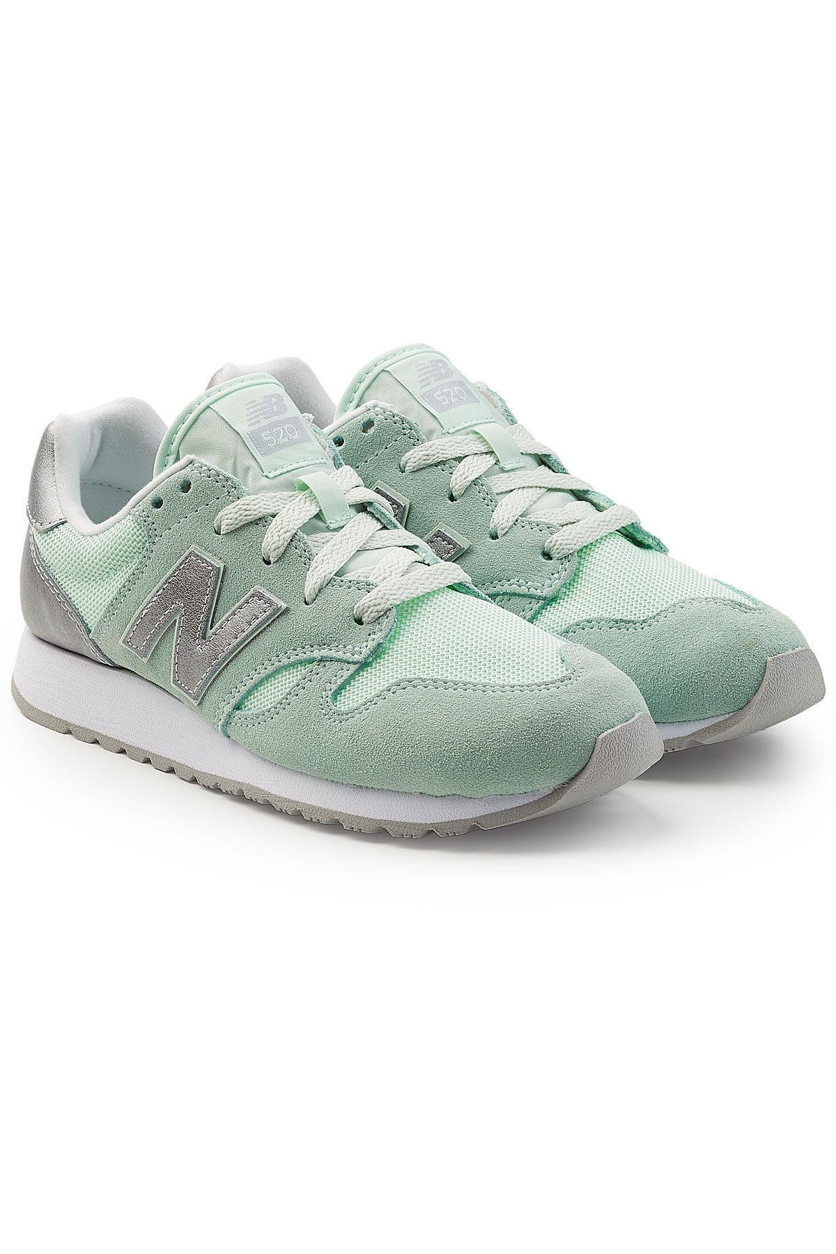 New Balance 520 Sneakers With Suede In Green