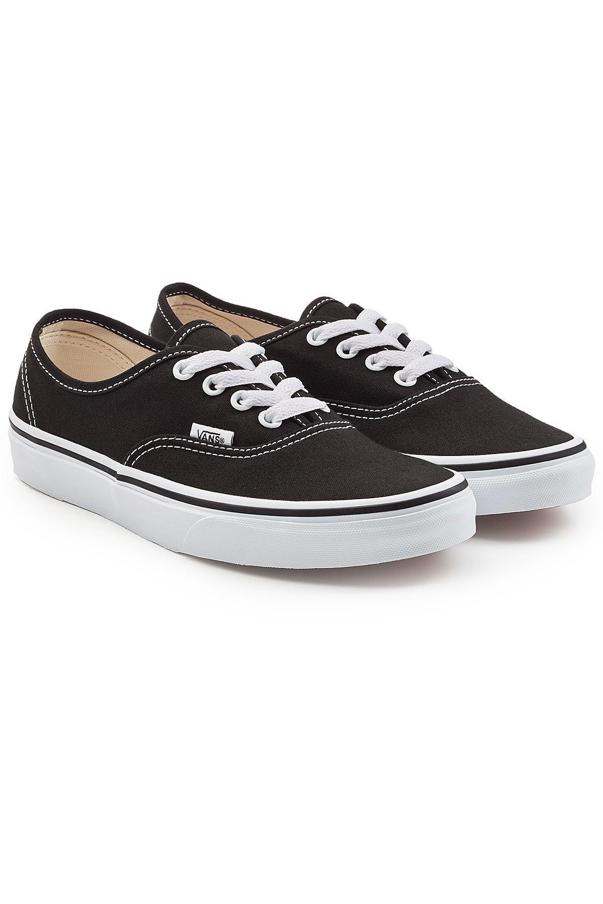 Vans Authentic Sneakers In Black