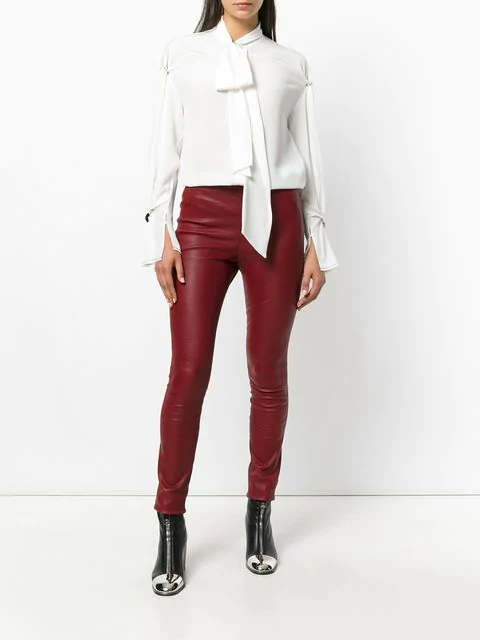 3.1 Phillip Lim Embellished Silk Blouse In White