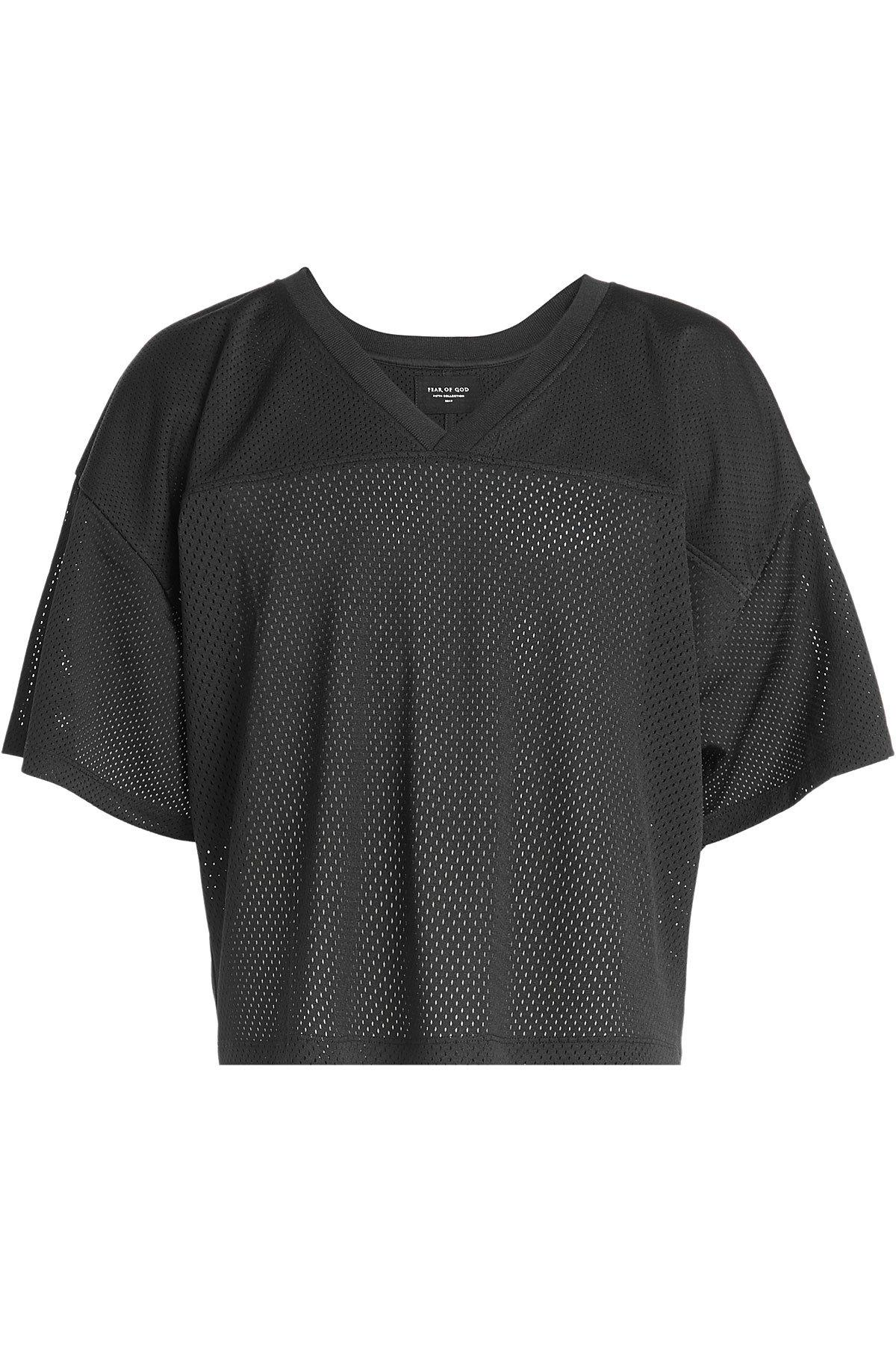 Fear Of God Mesh T-Shirt In Black