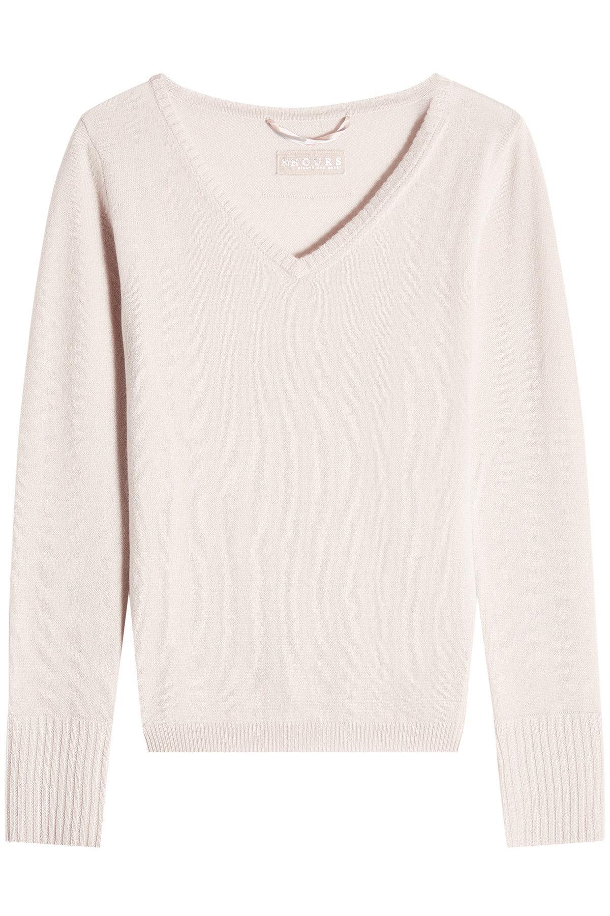 81 Hours Cashmere Pullover In Pink
