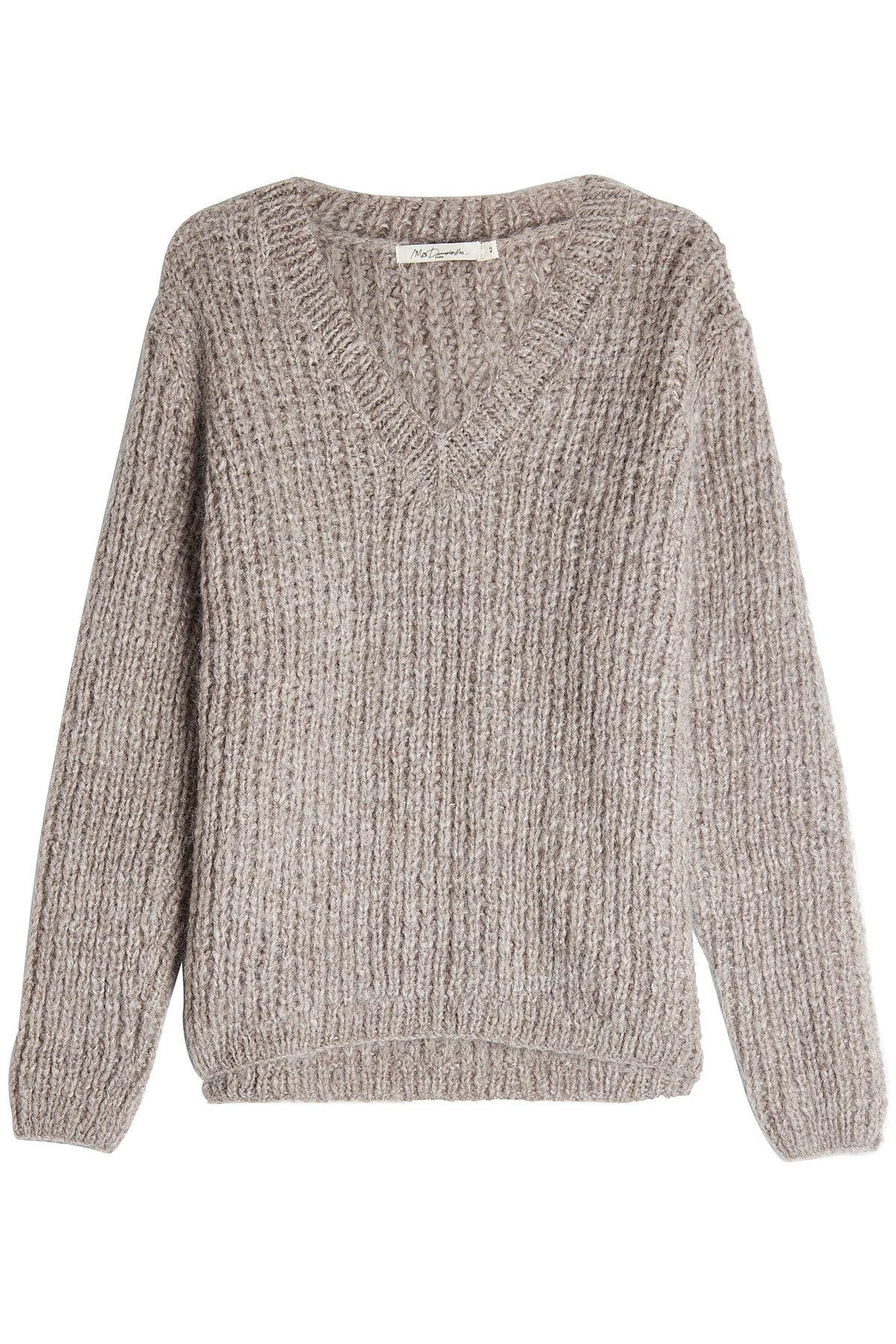 Mes Demoiselles Pullover With Wool And Mohair In Grey