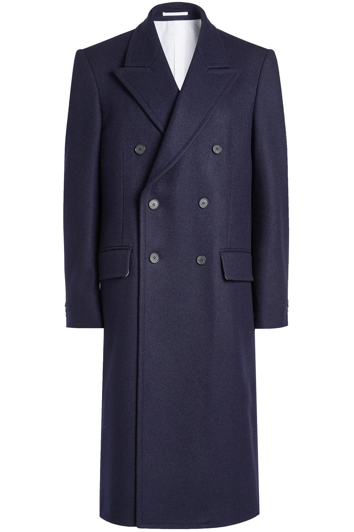 Calvin Klein 205W39Nyc Wool Coat In Blue