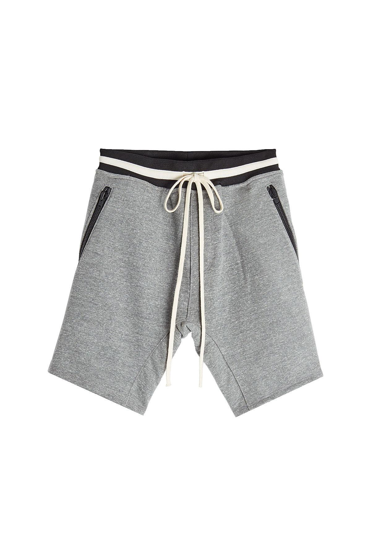Fear Of God Shorts With Zipped Pockets In Grey