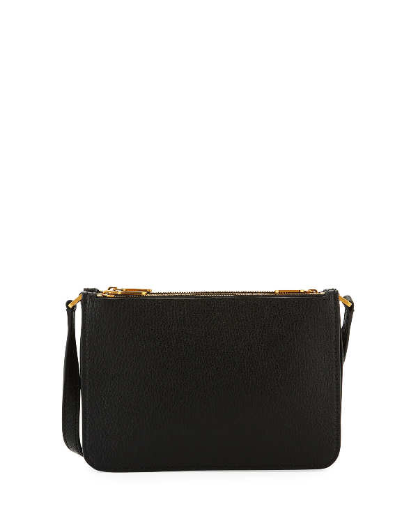 dff686a31212 Burberry Peyton Leather Crossbody Bag - Black