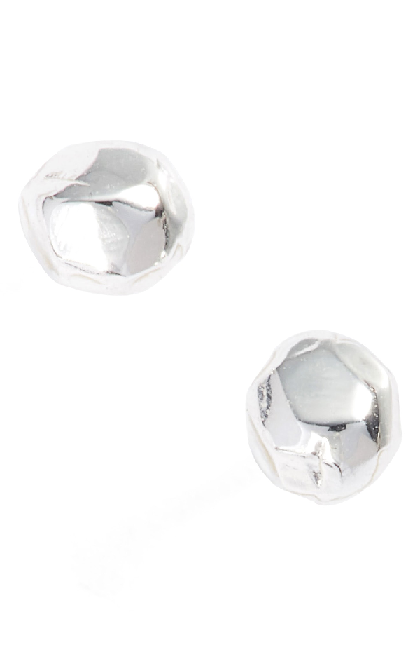 Gorjana Leucadia Mini Stud Earrings In Silver