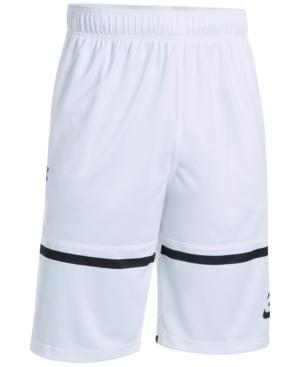 """Under Armour Sc30 Pick N Roll Basketball 11"""" Shorts In White"""