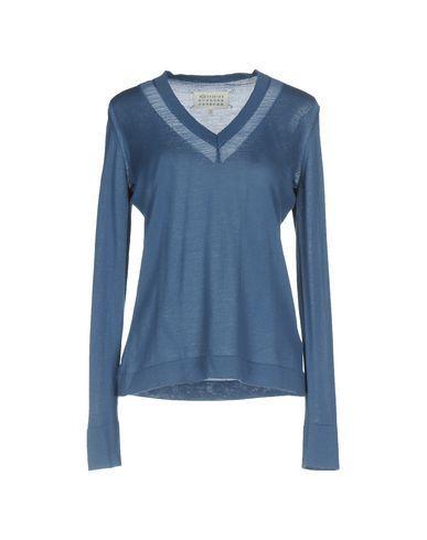 Maison Margiela Sweater In Slate Blue