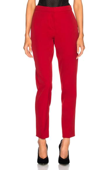 Oscar De La Renta For Fwrd Suit Pants In Red