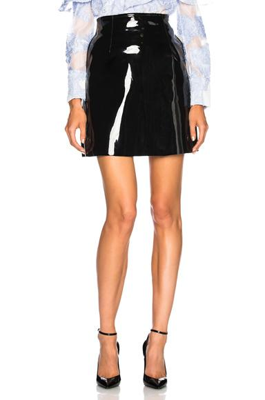 Philosophy Di Lorenzo Serafini Patent Skirt In Black