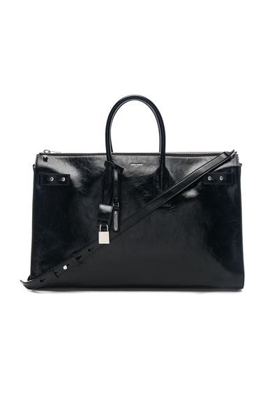 Saint Laurent Sac De Jour Souple 36 Bag In Black