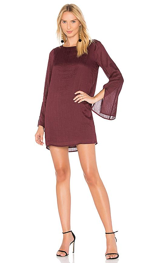 Line & Dot Philipa Shift Dress In Purple