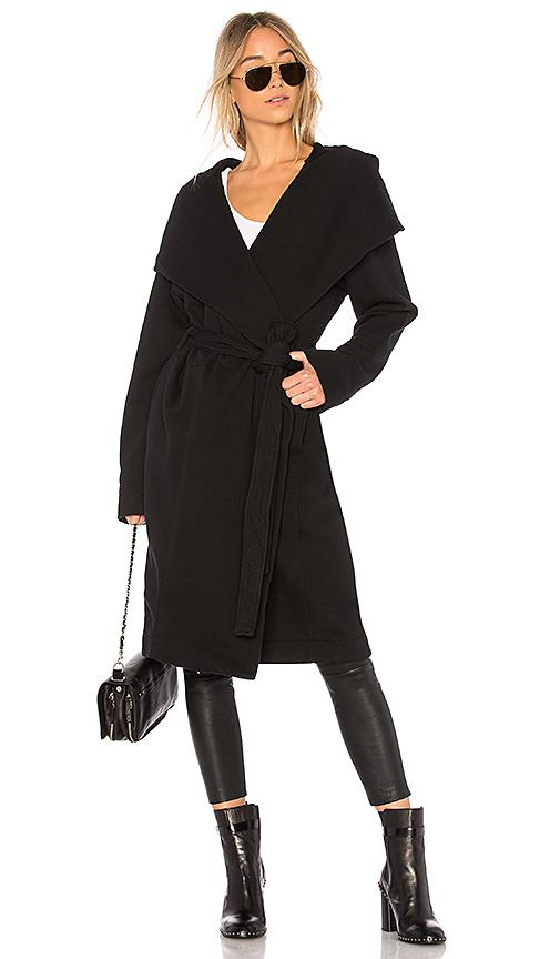 Rick Owens Drkshdw Cotton Spa Robe In Black