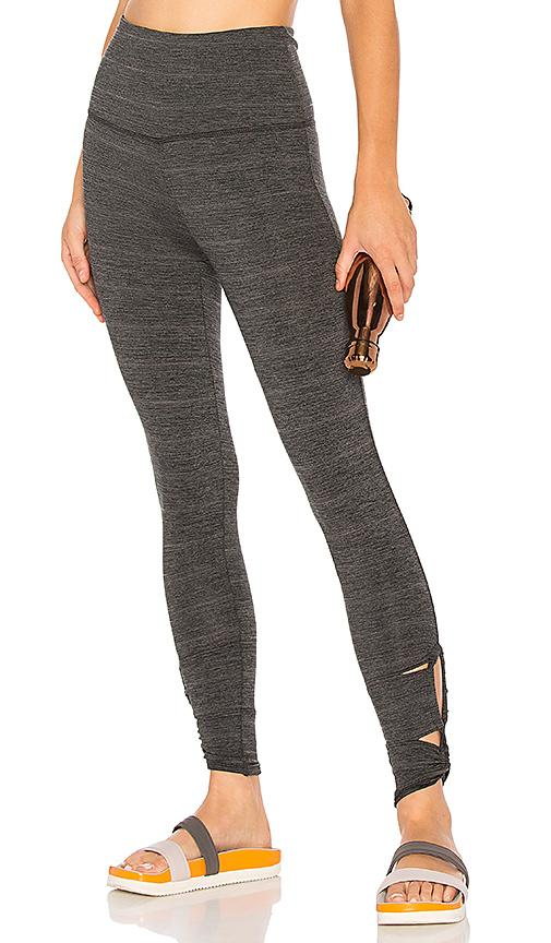 Free People Moss Jersey Revolve Legging In Grey Combo