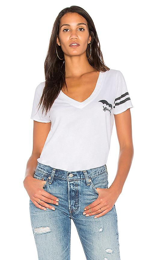 Chaser Spooky Bat Tee In White