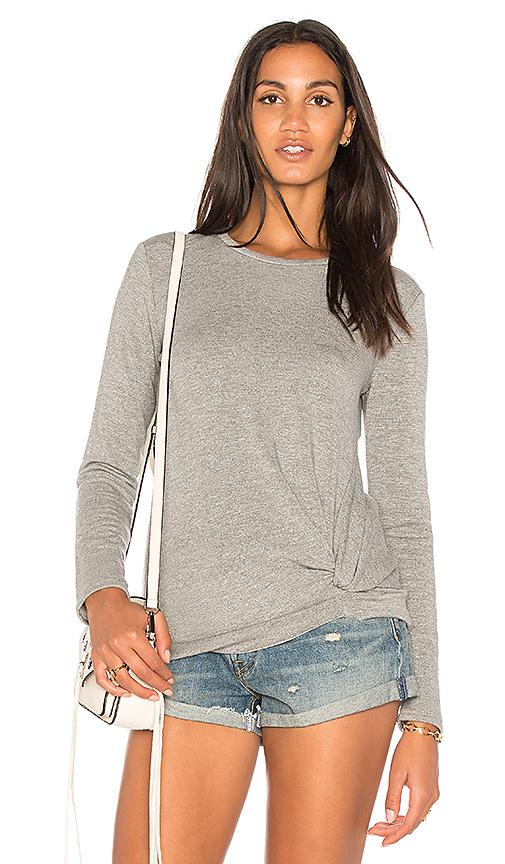 Stateside Viscose Fleece Sweatshirt In Gray
