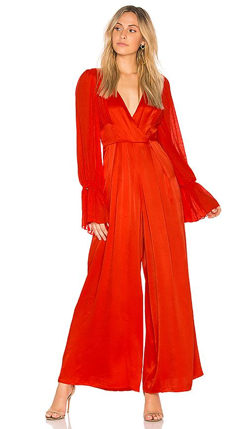 Free People Not Your Baby Jumpsuit In Red