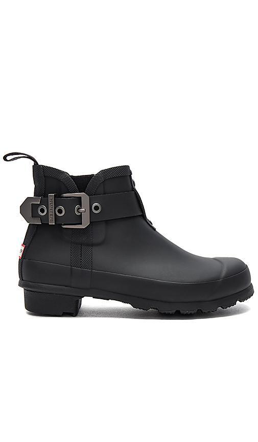 Hunter Original Mercury Chelsea Boot In Black