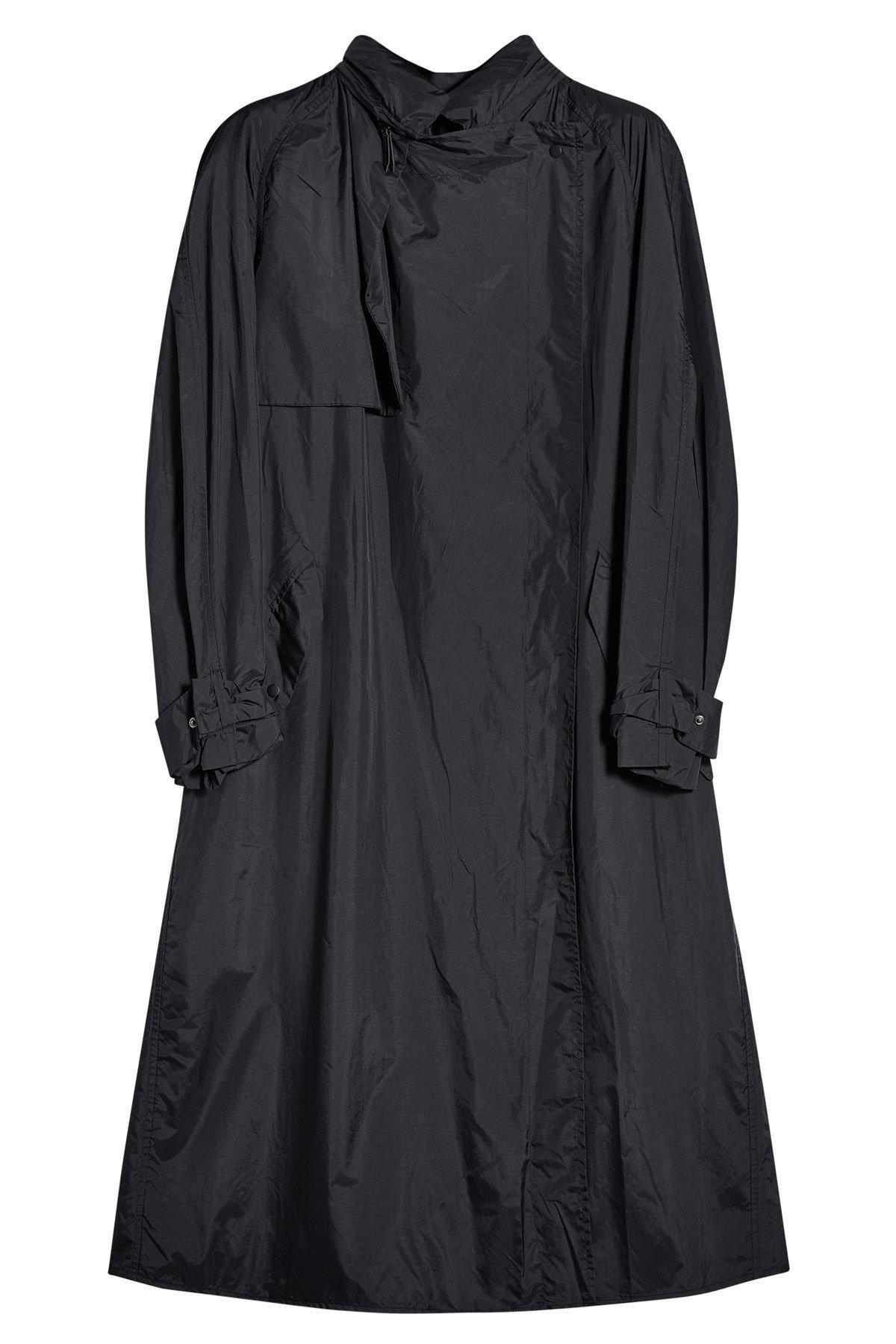 Isabel Marant Fabric Coat In Black