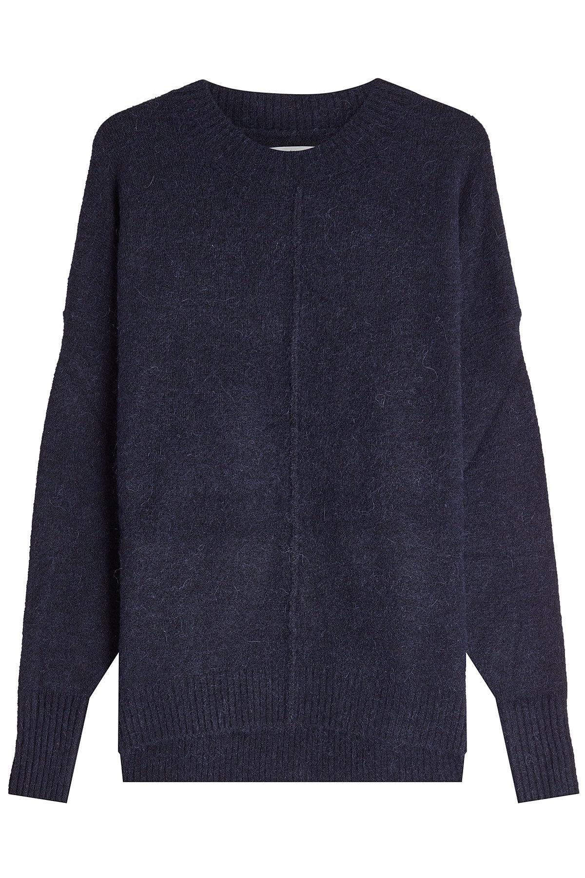 Etoile Isabel Marant Pullover With Alpaca And Wool In Blue