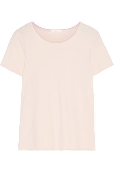 Skin Eulalie Organic Pima Cotton-Jersey Pajama Top