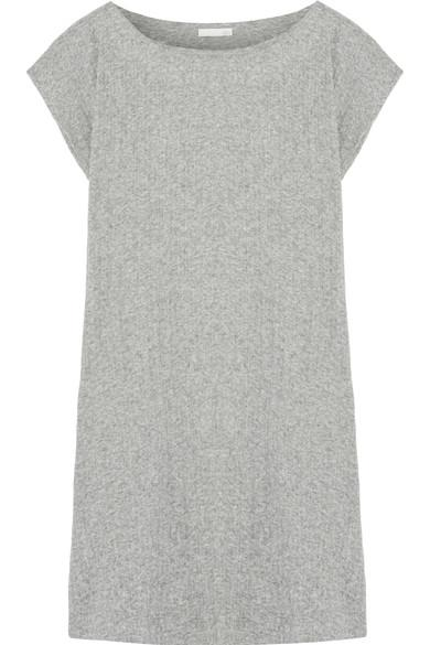 Skin Ribbed Pima Cotton Tunic