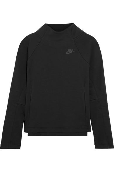 Nike Cotton-Blend Jersey Sweatshirt
