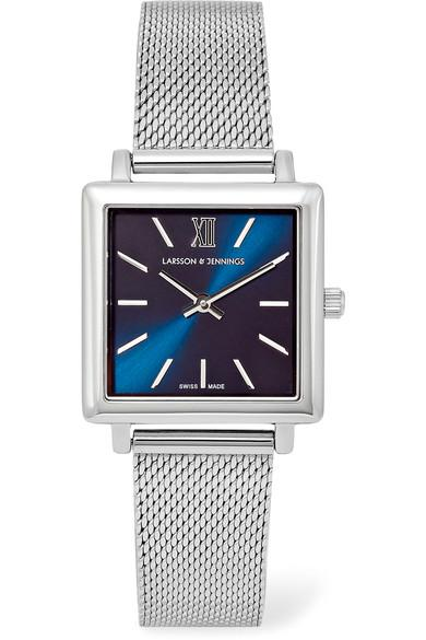 Larsson & Jennings Norse Stainless Steel Watch In Silver