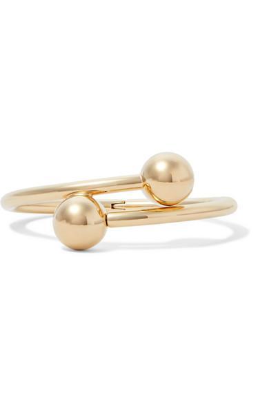 J.W.Anderson Gold-Plated Bracelet