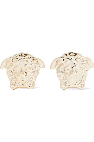 Versace Medusa Gold-Tone Earrings