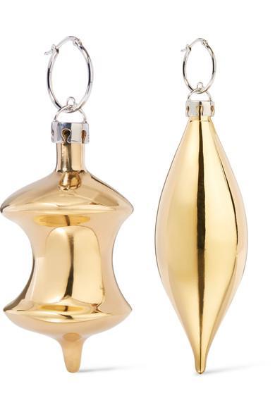 Balenciaga December Gold-Tone Earrings