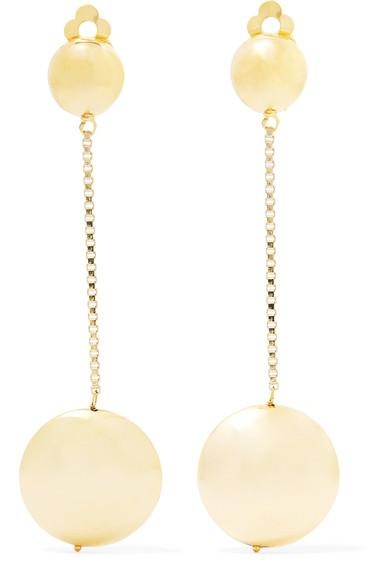 Rosantica Incanto Gold-Tone Clip Earrings